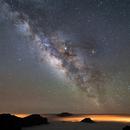 Milky Way over Caldera de Taburiente,                                AstroCat