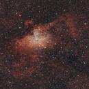 M16, nébuleuse de l'Aigle, le 25 août 2016,                                Laurent3112