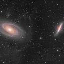 M81 & M82 - IFN in Light Pollution,                                Jarrett Trezzo