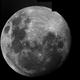 Mond ca. 1Tag vor der MoFi,                                Benni