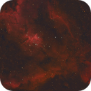 ic1805 Hart Nebula RGB-HA,                                Bert Scheuneman
