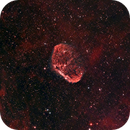 NGC 6888 L-eXtreme Bortle 9 Test,                                Danny