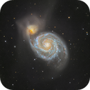 M51 - The Whirlpool Galaxy,                                Tristan Campbell