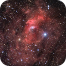 Sharpless 162 (Bubble) Region in Cassiopeia,                                Jim Thommes