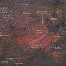 Scutum Constellation - Annotations,                                Ray Caro