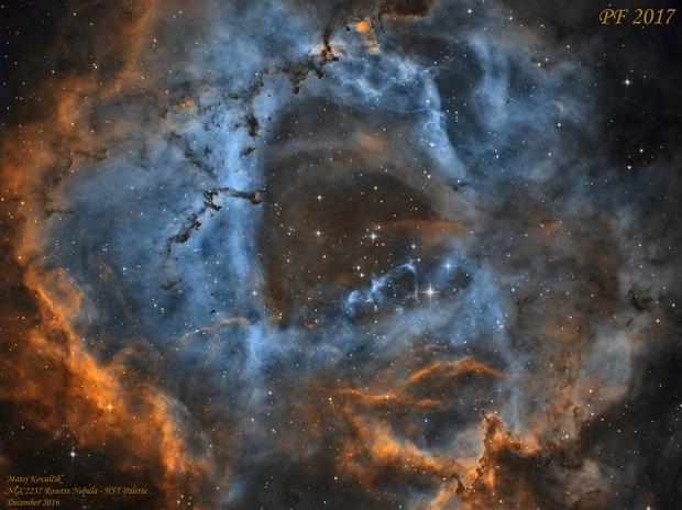 NGC2237 Rosette Nebula,                                Matej Kovalčík