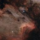 Pelican Nebula(HOO),                                Jonathan Eggleston