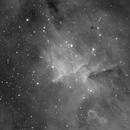 IC1805 in Ha wavelength,                                Mauro Narduzzi