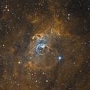 NGC 7635 (Narrow band),                                John Leader
