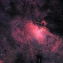 M16 Eagle Nebula wide,                                Pete Bouras