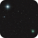 Comet Lovejoy and Polaris,                                José J. Chambó