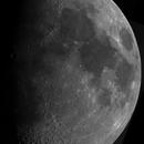 Lunar mosaic, July 6, 2014,                                Ofer Gabzo