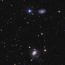 NGC 4151, NGC 4145 & NGC 4156,                                astrodan