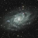 M33 -  Triangulum Galaxy - 2020,                                lbru