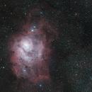 M8 The Lagoon Nebula,                                Jamie