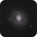 M94 Spiral galaxy,                                bawind Lin