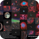 2018 Astrophotography Collage,                                Chad Andrist