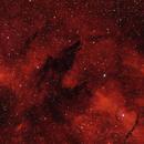"RCW113 and SL17 ""Wolf-Nebula"",                                Rolf Dietrich"