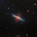 M82 - The Cigar Galaxy,                                Randal Healey