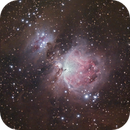 Orion nebula (M42, M43 and surrounding dust),                                Lee B