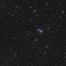 NGC 2326 und NGC 2321 - zwei Balken-Spiralen im Luchs,                                Etienne
