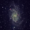 Triangulum Galaxy - LHaGB,                                Graham Mallin