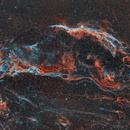 Veil Nebula, NGC 6974 and 6960,                                Epicycle