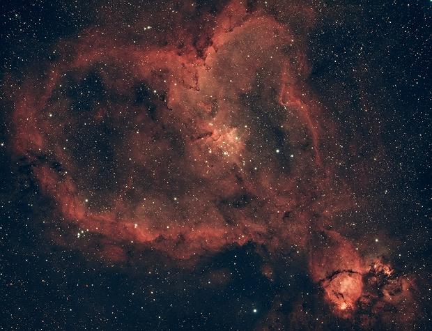 Heart Nebula (IC 1805),                                Marco Rapino