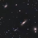 NGC 3190 and Friends,                                Samara