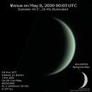 Venus on 2020-05-07,                                JDJ