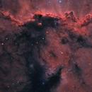 Nebulas in Ara - NGC 6188 NGC 6193 NGC 6164 NGC 6165,                                Michel Lakos M.