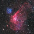 NGC 2014 and NGC 2020 in the LMC,                                José Joaquín Pérez
