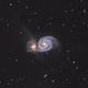 M51, the Whirlpool Galaxy,                                AstroGearTH