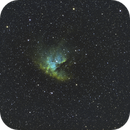NGC281-Ha-SHO-new processing,                                Adel Kildeev
