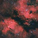 IC 1318 Gamma Cygni nebula HaRGB,                                Jens Zippel