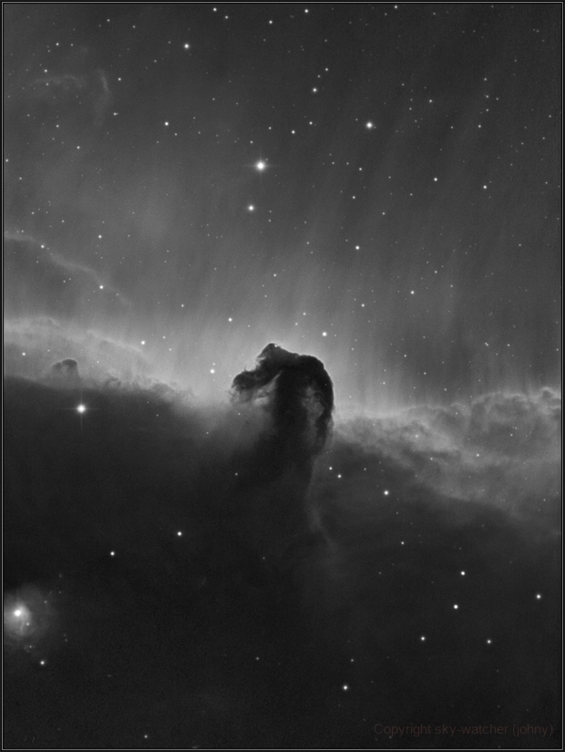 Horsehead Nebula,                                sky-watcher (johny)