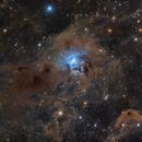 Iris Nebula (ngc7023),                                Kongyangshik
