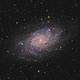 M33, The Triangulum galaxy,                                Andrei