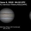 Jupiter on June 4, 2019,                                JDJ
