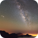 Planètes dans le ciel de La Palma,                                Christophe Perroud