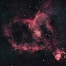 Heart Nebula, IC 1805,                                Nicholas Gialiris