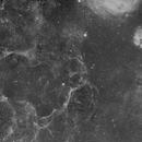 Vela Supernova Remnant (4 image H-Alpha mosaic),                                Diego Cartes