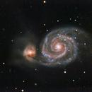 M 51 - Whirlpool Galaxy.,                                GALASSIA 60