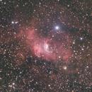 Bubble Nebula Ha+OSC NGC 7635/SH2-162,                                Brandon Tackett