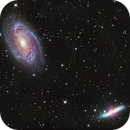M81 & M82 on Lacerta 250 in HaLRGB,                                Piet Vanneste