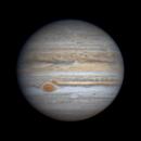 Jupiter time lapse October 8 2020,                                Kevin Parker