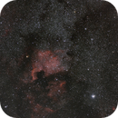 NGC 7000 - Nord America,                                Valerio Pardi