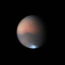 Mars now at 13.7 arc secs,                                Niall MacNeill