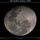 Waning Moon 18 days - LRGB,                                Brice Blanc