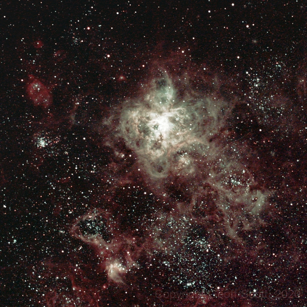Caldwell 103 - 30 Doradus Tarantula Nebula,                                Geoff Scott